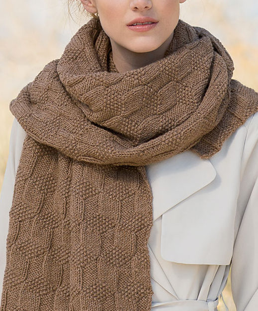 Knitting Pattern for Easy Vista Scarf