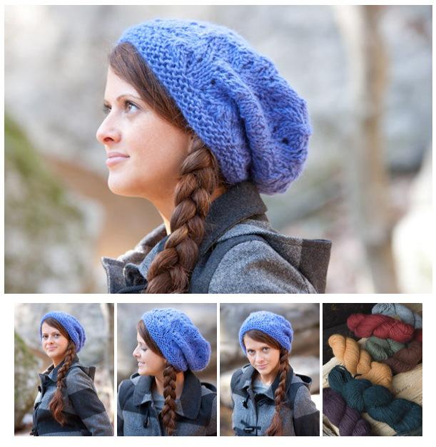 203a253ea445f Montera Slouchy Hat Free Knitting Pattern and more free slouchy hat  knitting patterns