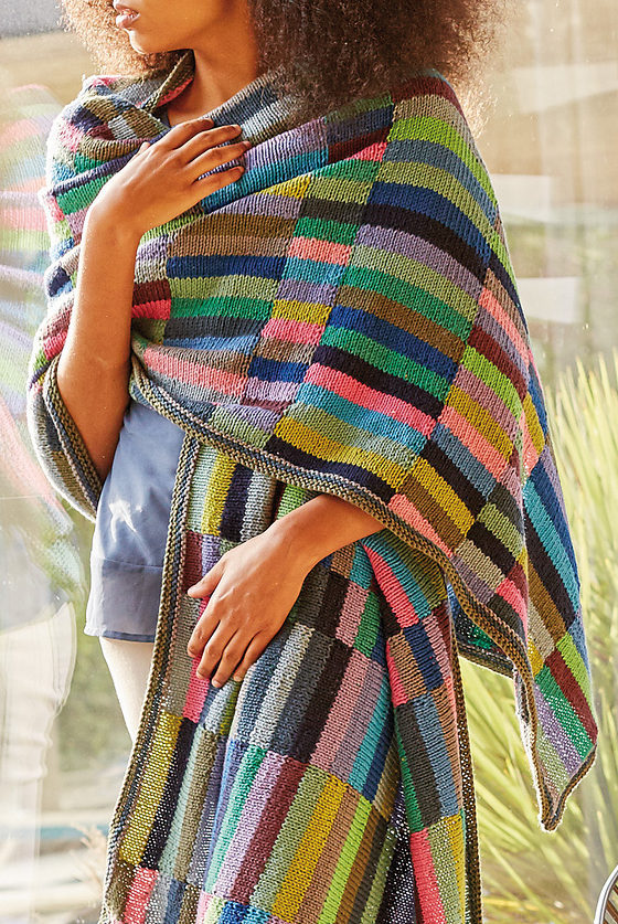 Free Knitting Pattern for Waterlilies Runner Stole