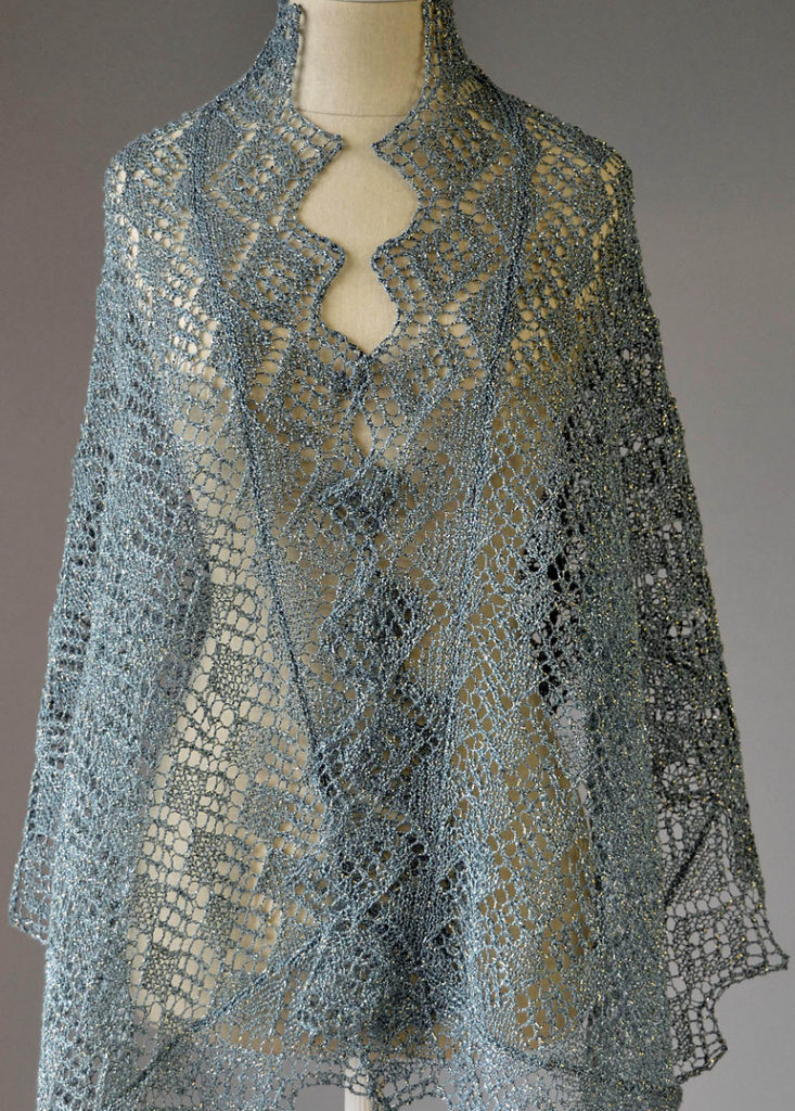 Free Knitting Pattern for Whimsical Wrap