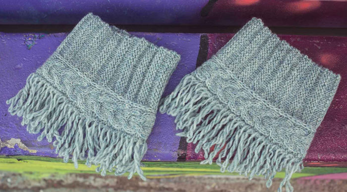 Knitting Pattern for Wynkoop Boot Cuffs