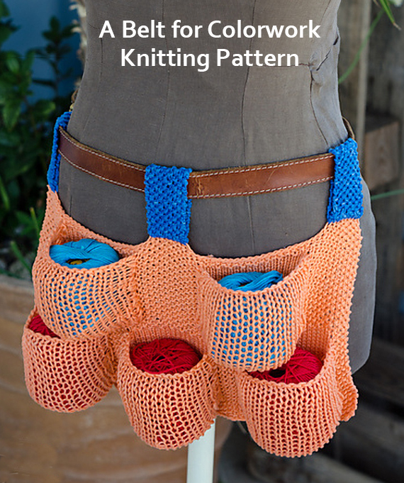 Knitting Pattern for A Belt for Colorwork