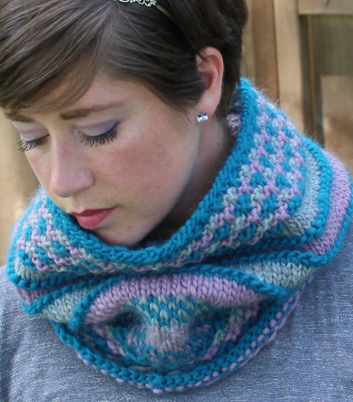 Knitting Pattern for Adventure Cowl