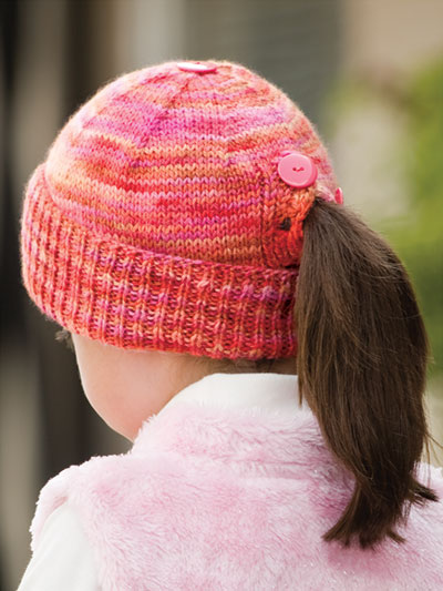 Knitting Pattern for All Buttoned Up Beanie