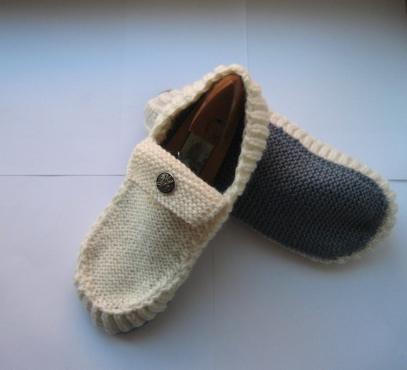 Knitting pattern for slippers