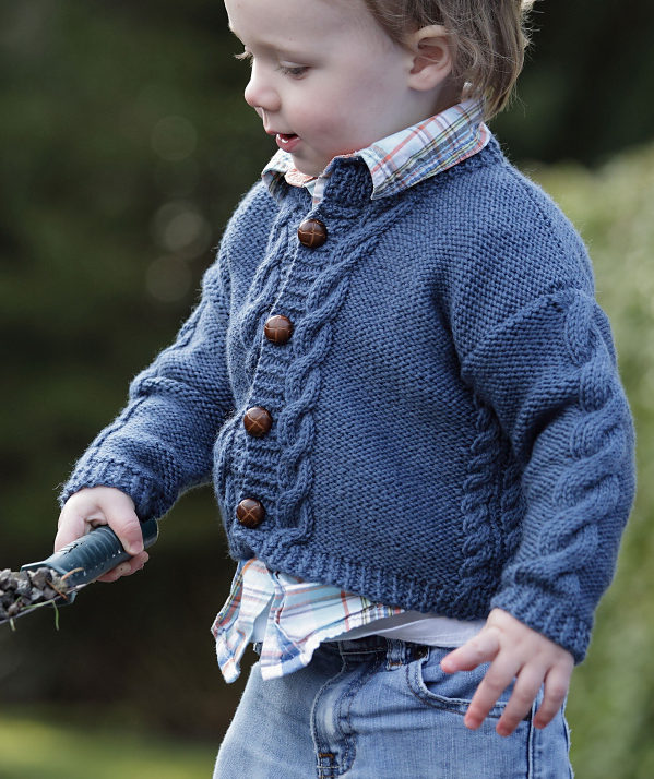 80180571412f4b Cardigans for Children Knitting Patterns - In the Loop Knitting