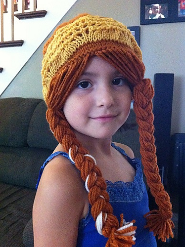 Knitting Pattern for Anna Hat