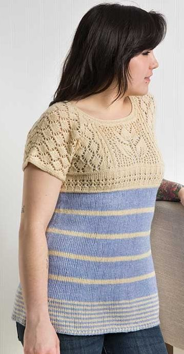 Knitting Pattern for Annabella Tunic