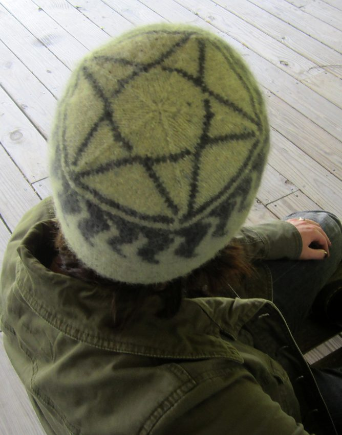 Free Knitting Pattern for Anti-Possession Hat inspired by Supernatural