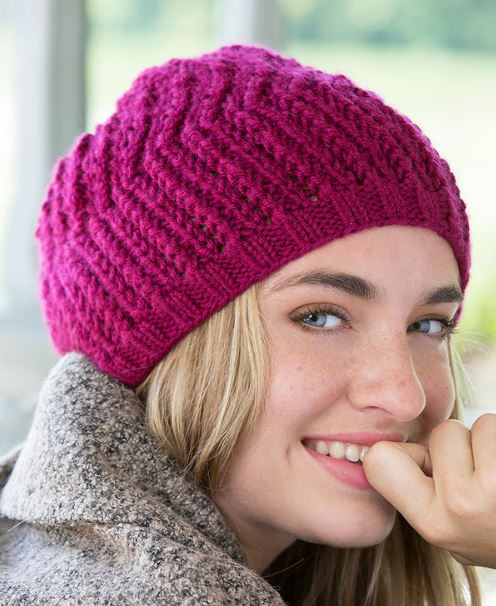 Free Knitting Pattern Any Day Beret
