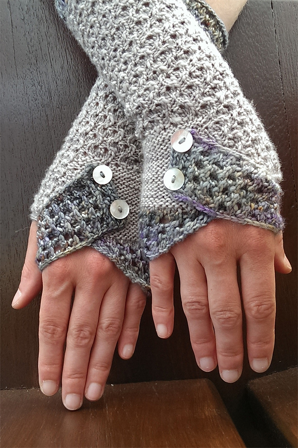 Knitting Pattern for Aotearoa Mitts