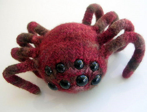 Free Knitting Pattern for Aragog the Spider Monster