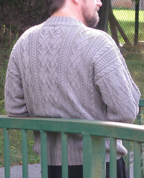 Free Knitting Pattern for Arguyle Pullover Sweater