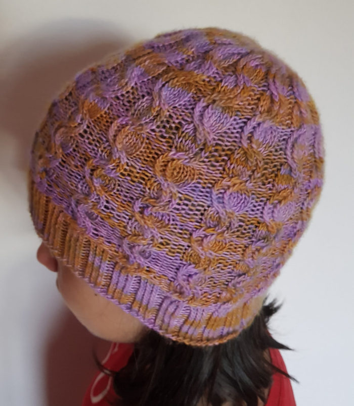 Free Until Dec. 31 2017 Aroma Hat and Mitts Knitting Pattern
