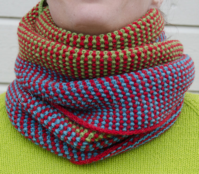 Free Knitting Pattern for Array Cowl