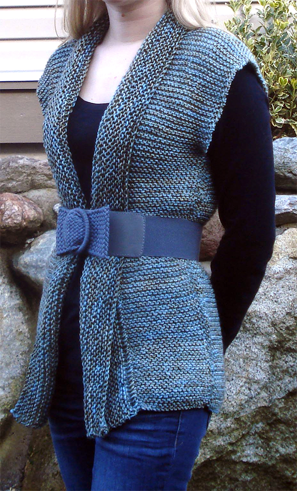 Knitting Pattern for Easy Astrolabe Vest