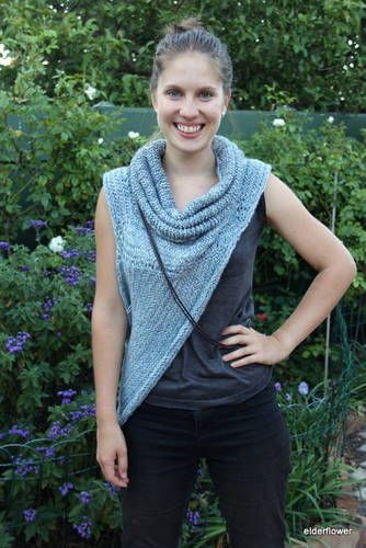 Free knitting pattern for Asymmetric Cowl and more Hunger Games Knitting Pattern