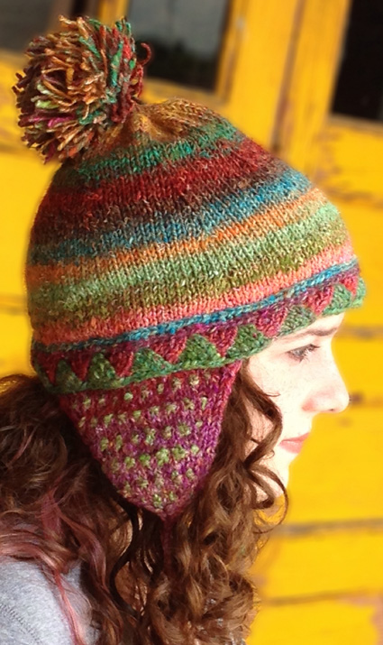 Free Knitting Pattern for Attention Span Hat