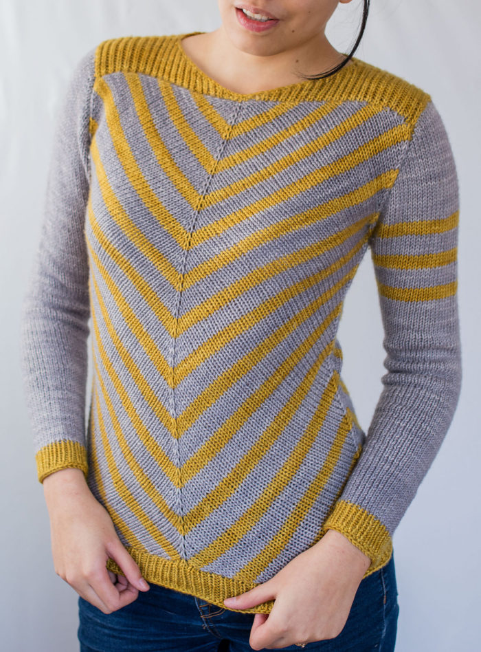 Knitting Pattern for Aumangea Pullover