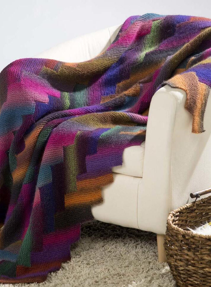 Free Knitting Pattern for Auralite Afghan