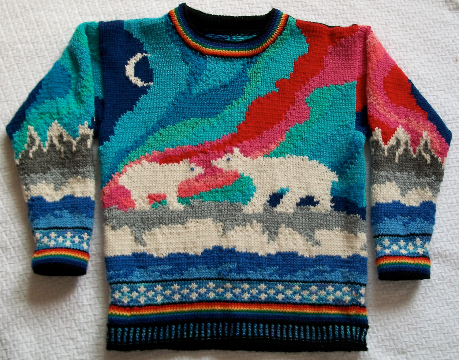 Knitting Pattern for Aurora Sweater
