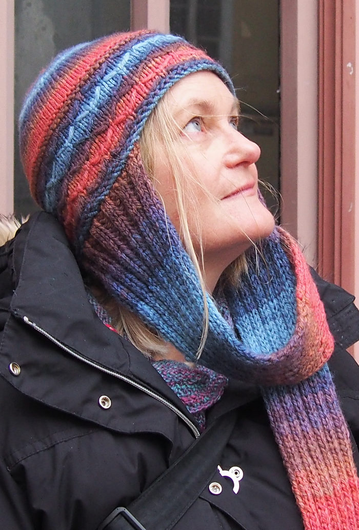 Free Knitting Pattern for Aviator Hat