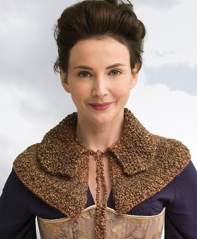 Knitting Pattern for Outlander Awakened Witch Trial Capelet