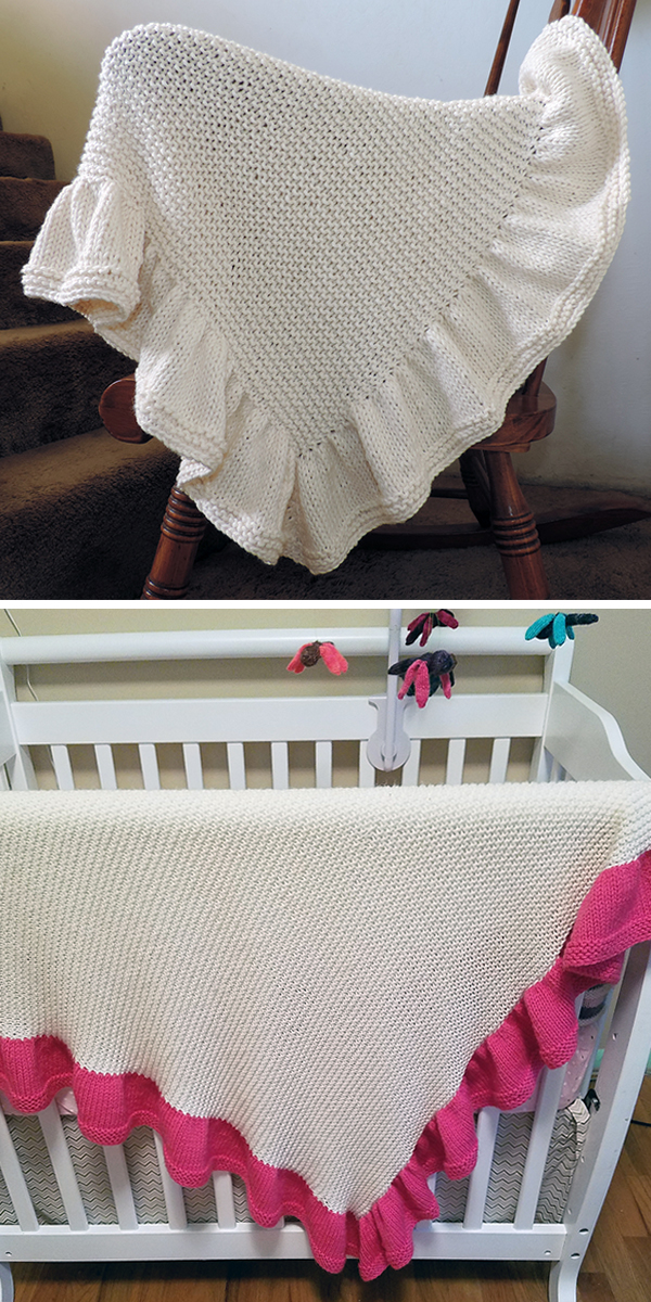 Free Knitting Pattern for Baby Blankie