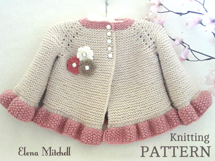 Garter Stitch Little One Knitting Patterns- In the Loop Knitting