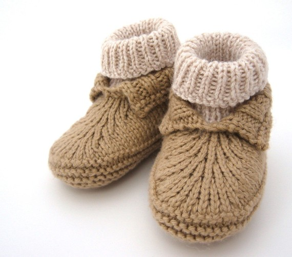 Baby Booties Knitting Patterns In The Loop Knitting