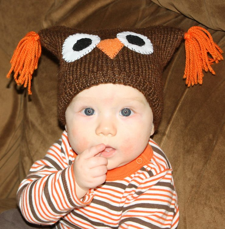 Animal Hat Knitting Patterns In The Loop Knitting Mesmerizing Free Owl Hat Knitting Pattern