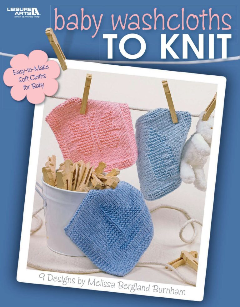 Baby Washcloths to Knit