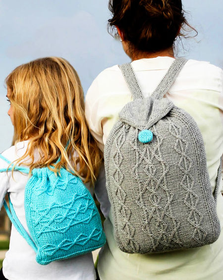 Free Knitting Patterns for Adventure Backpacks
