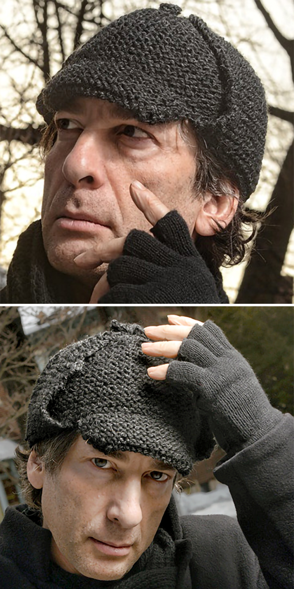 Knitting Patterns for Sherlock Holmes Hat