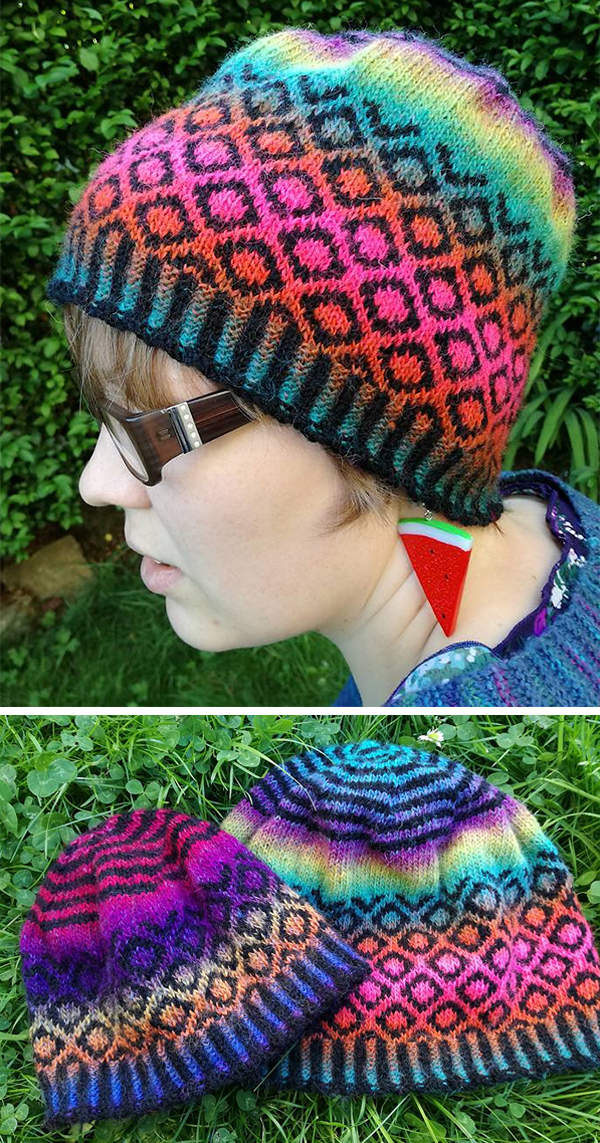Free Knitting Pattern for Basalt Hat