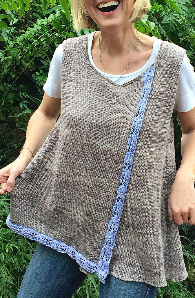 Free Knitting Pattern for Bay Laurel Tunic