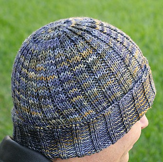 Free knitting pattern for Be Kind Hat