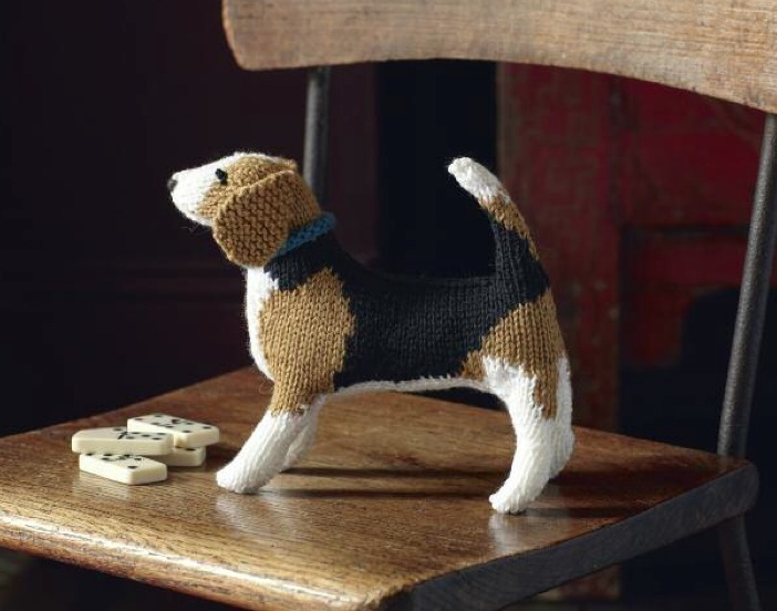 Beagle Free Knitting Pattern and more free dog knitting patterns