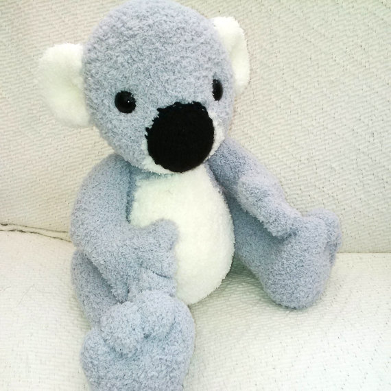 Knitting pattern for Kimmy the Koala Bear and more teddy bear knitting patterns