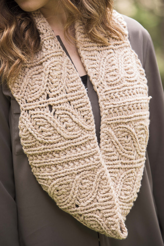 Knitting Pattern for Bear Lake Cowl