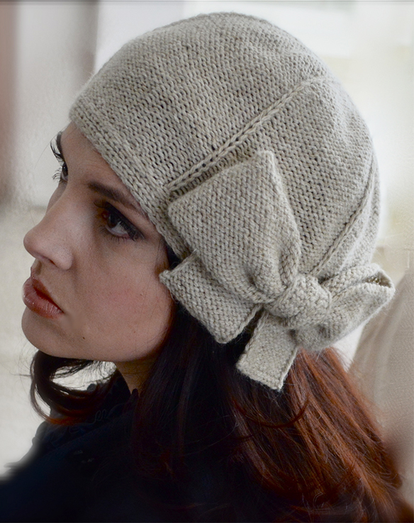 Knitting Pattern for Beau Cloche