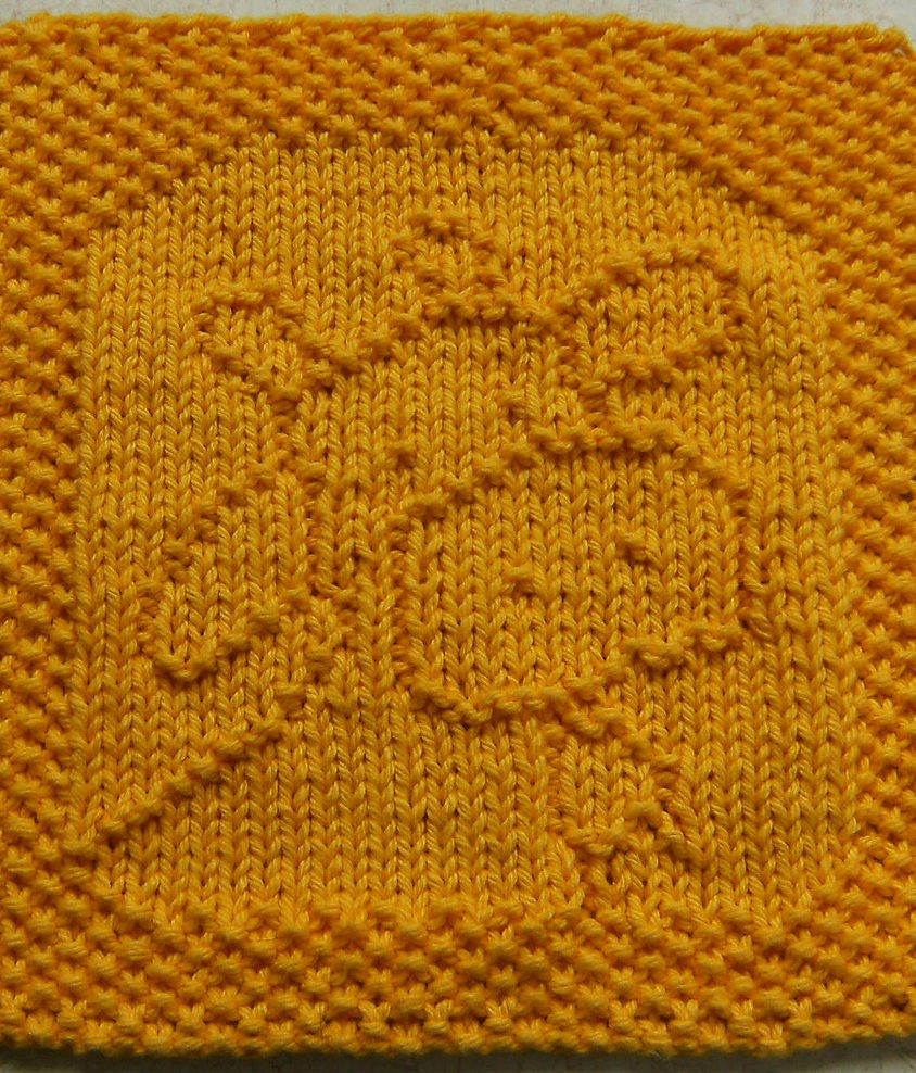 Free Knitting Pattern for Belle the Cow Was Cloth or Bib
