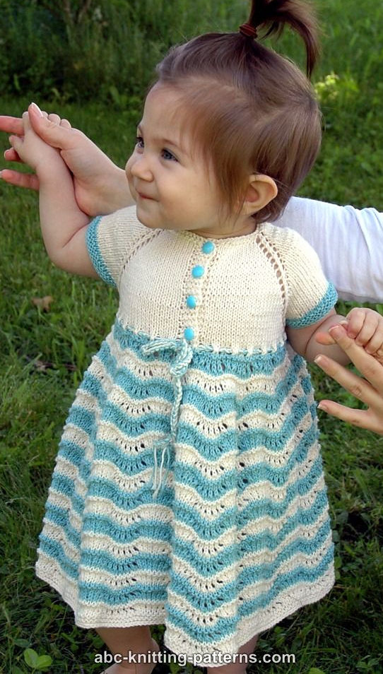 763480e7b Dresses and Skirts for Babies and Children Knitting Patterns - In ...