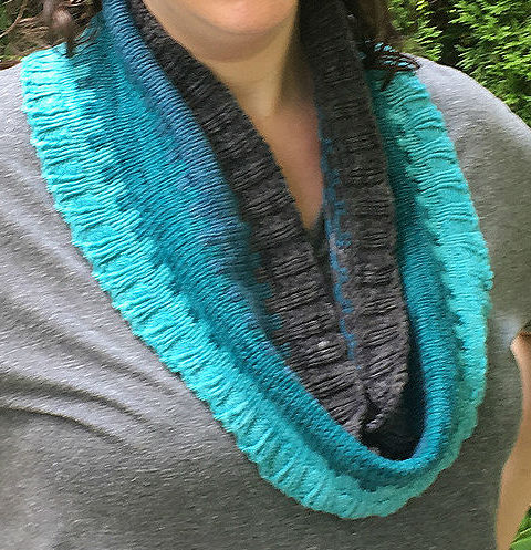 Free Knitting Pattern for Beyond the Wall Cowl