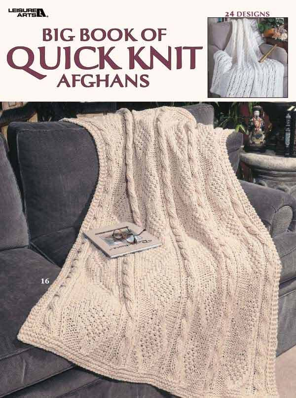 Big Book of Quick Knit Afghans ebook