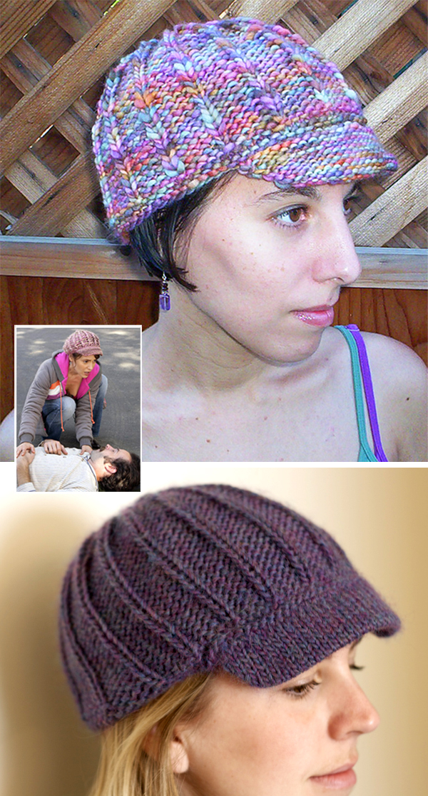 Free Knitting Pattern for Billie Hat