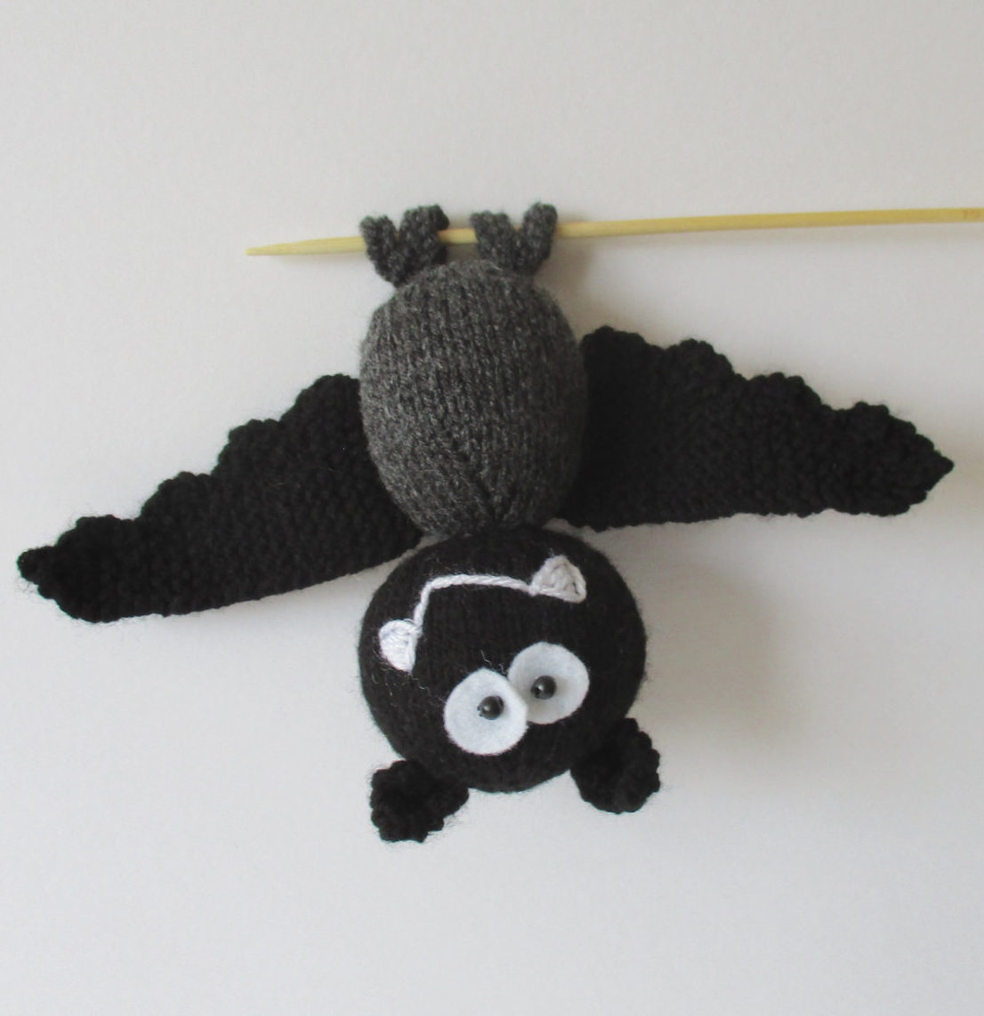 Knitting Pattern for Billy the Bat