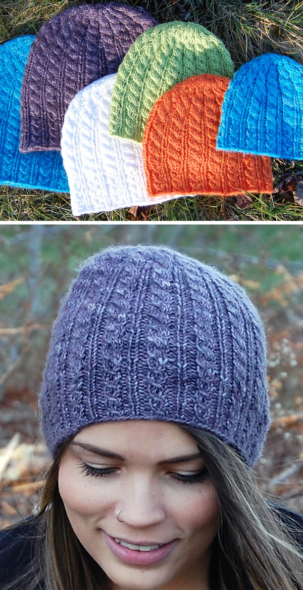 Free until May 31, 2020 Knitting Pattern for Blomidon Hiking Hat sizes Newborn to Adult