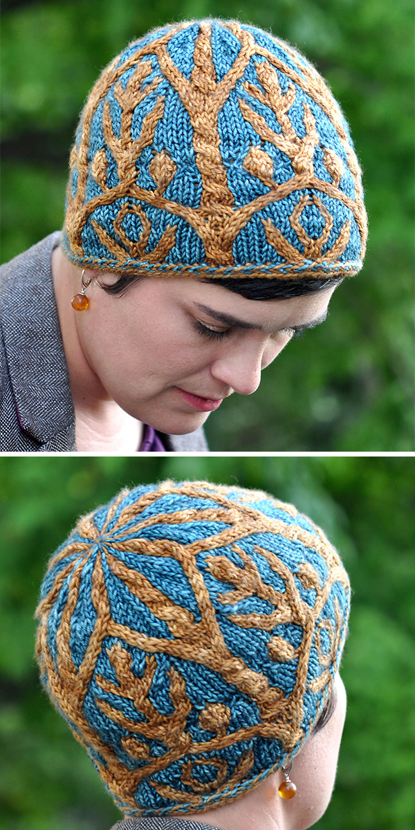 Knitting Pattern for Lothlorien Hat