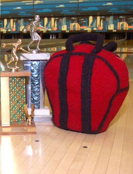 Free Knitting Pattern for Bowling Ball Bag